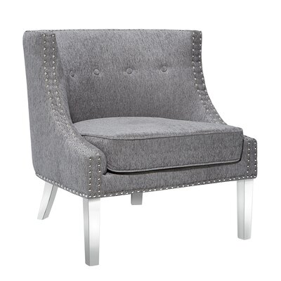 Cristiano Upholstered Dining Chair Upholstery: Platinum