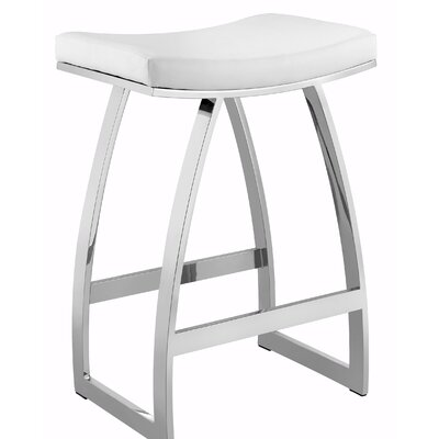 Schloss 27 Bar Stool Color: White