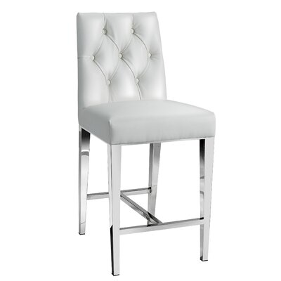 Maison Bar Stool Color: White