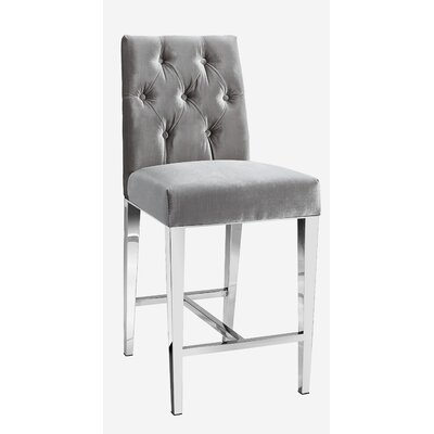 Maison Bar Stool Color: Gray