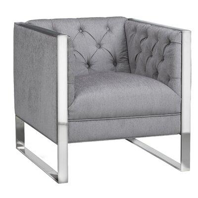 Camdyn Armchair Upholstery: Platinum