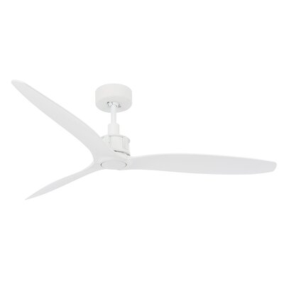 52 Viceroy 3 Blade Ceiling Fan with Remote Finish: White