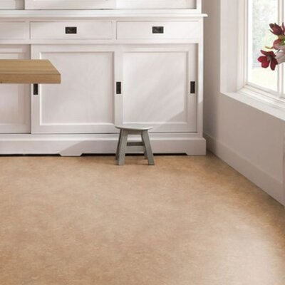 Marmoleum Click Cinch Loc 11.81 x 35.43 x 9.9mm Cork Laminate Flooring in Brown