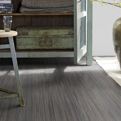 Marmoleum Click Cinch Loc 11.81 x 35.43 x 9.9mm Cork Laminate Flooring in Black