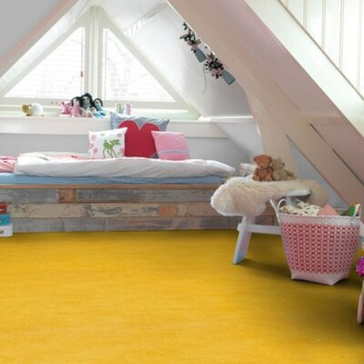 Marmoleum Click Cinch Loc 11.81 x 35.43 x 9.9mm Cork Laminate in Yellow