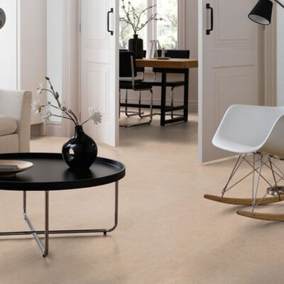 Marmoleum Click Cinch Loc 11.81 x 35.43 x 9.9mm Cork Laminate Flooring in Tan