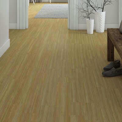Marmoleum Click Cinch Loc 11.81 x 35.43 x 9.9mm Cork Laminate in Tan