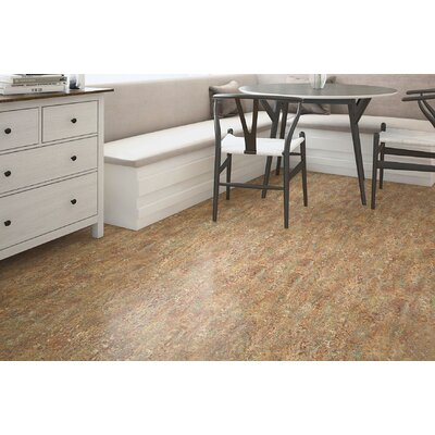 Marmoleum Click Cinch Loc 11.81 x 11.81 x 9.9mm Cork Laminate Flooring in Brown
