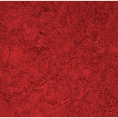 Marmoleum Click Cinch Loc 11.81 x 11.81 x 9.9mm Cork Laminate Flooring in Red