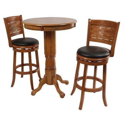 BORAAM Florence Pub Table - Finish: Brandy