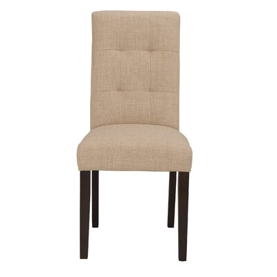 Lyon Parson Chair in Linen - Khaki (Set of 2)