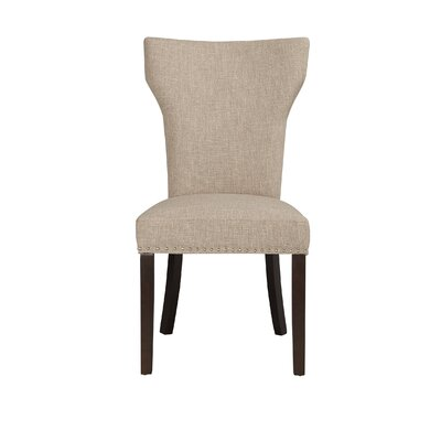 Monaco Parson Chair (Set of 2) Upholstery: Oatmeal