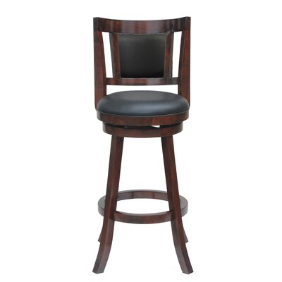 Goehring 24 Swivel Bar Stool Finish: Cherry