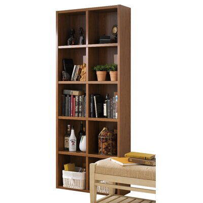 Techny Calder 78 Cube Unit Bookcase Finish: Golden Oak