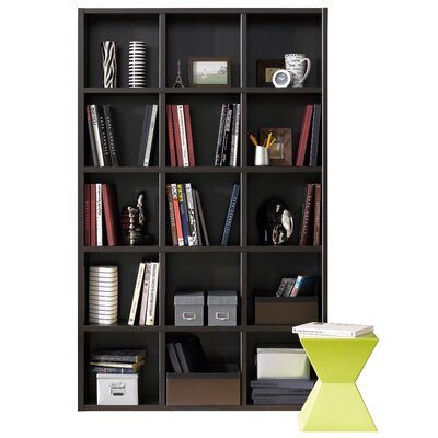 Techny Kline 78 Cube Unit Bookcase Finish: Espresso