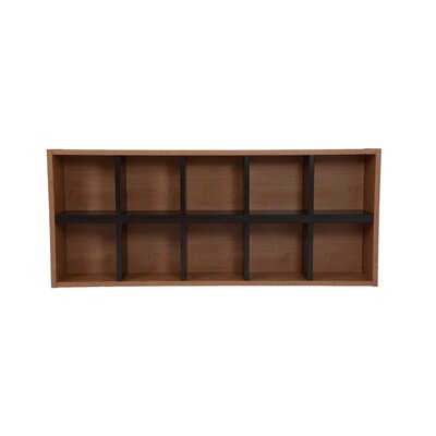 Techny Avery 31 Cube Unit Bookcase Finish: Maple / Espresso