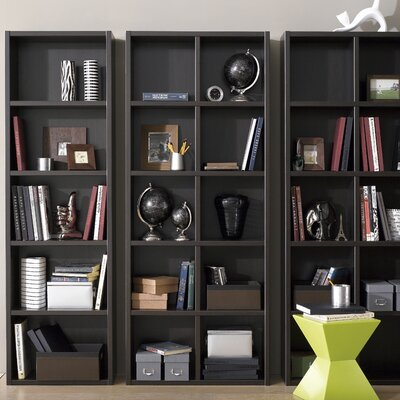 Techny Calder 78 Cube Unit Bookcase Finish: Espresso