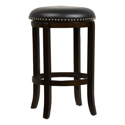 Delavan 24 Swivel Bar Stool Finish: Cappuccino