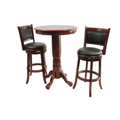 Augusta Three Piece Pub Set in Light Cherry