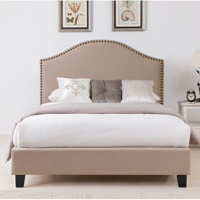 Penshire Upholstered Panel Bed Size: Queen