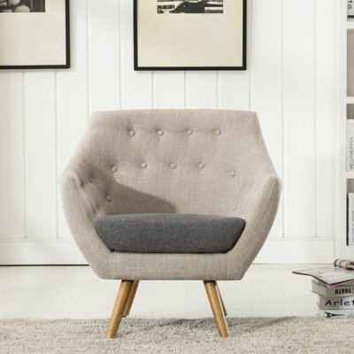 Westford Dual Tone Tufted Armchair