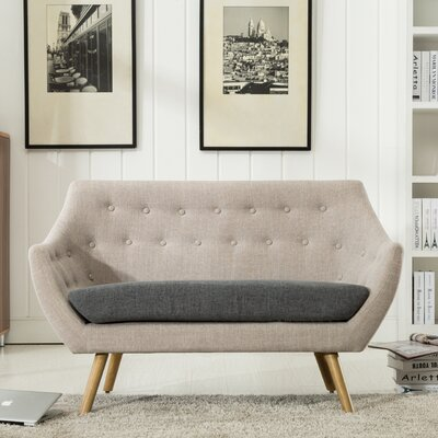 Westford  Dual Tone Tufted Sofa