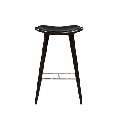 Cecil 29 Bar Stool Color: Black