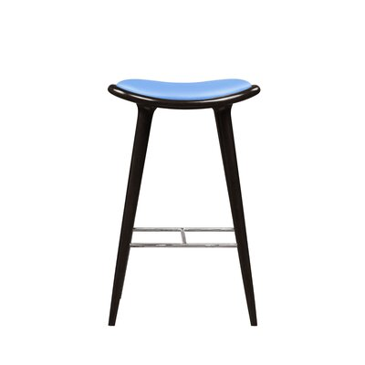 Cecil 29 Bar Stool Color: Blue