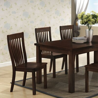 Low Price Boraam Grantsville Side Chair (Set of 2) Finish: Cappuccino