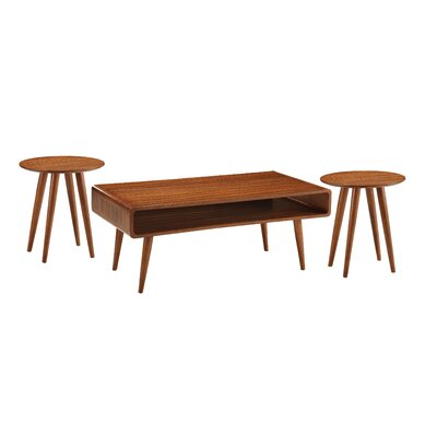 Svenska 3 Piece Coffee Table Set