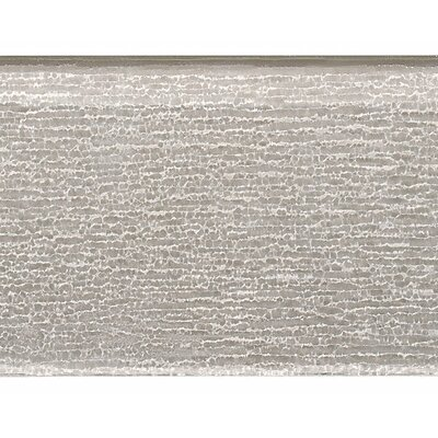 Premium Series Individual 4 x 12 Textured Glass Subway Tile in Icy Gray