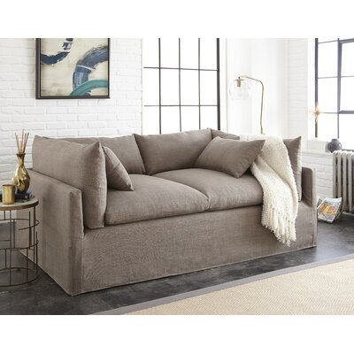 Manhattan Sleeper Sofa Upholstery: Gray