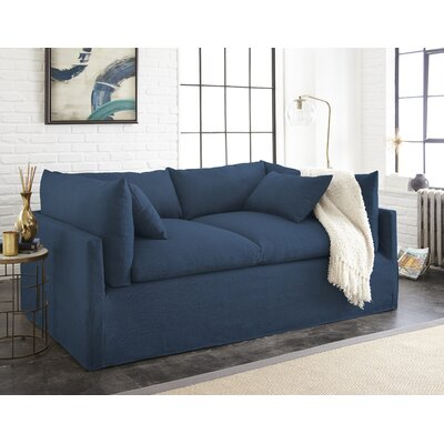 Manhattan Sleeper Sofa Upholstery: Indigo