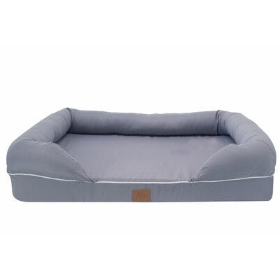 Lounge Dog Bolster Size: Large (34.5 W x 27.5 D x 9 H)