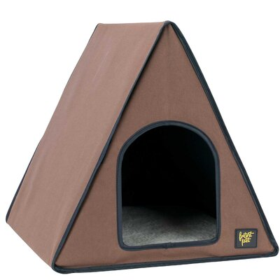 A-Frame Heated Cat House