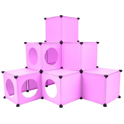 DIY Cat House Color: Pink