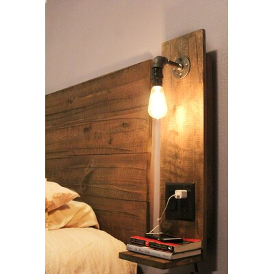 Rustic Floating Nightstand