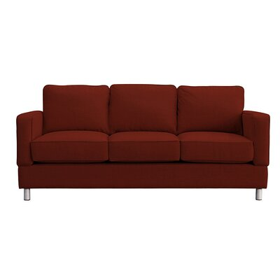 Raleigh Sofa Upholstery: Red