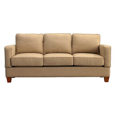 Raleigh Sofa Upholstery: Almond
