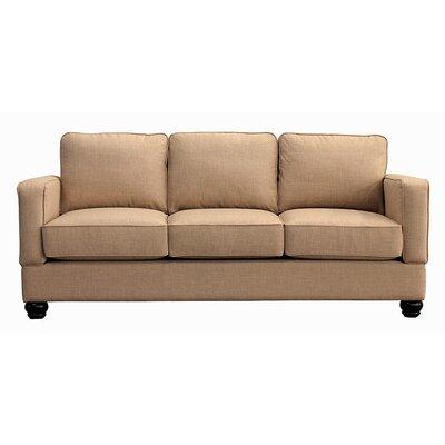 Raleigh Sofa Upholstery: Almond