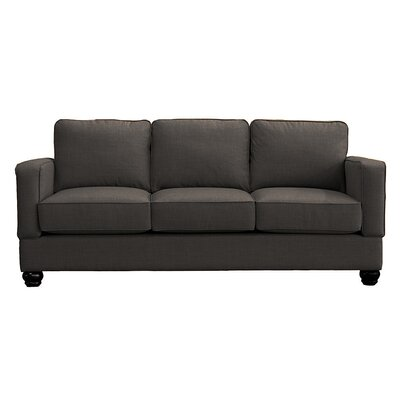 Raleigh Sofa Upholstery: Charcoal