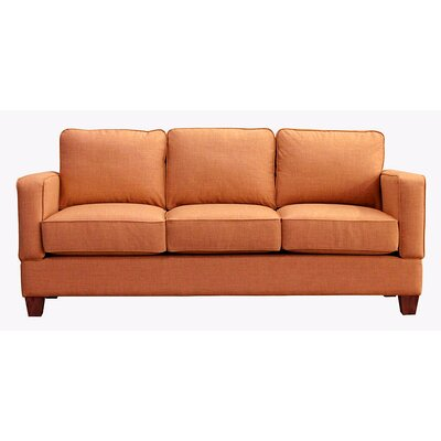 Raleigh Sofa Upholstery: Orangeade