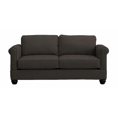 Georgetown Loveseat Upholstery: Charcoal