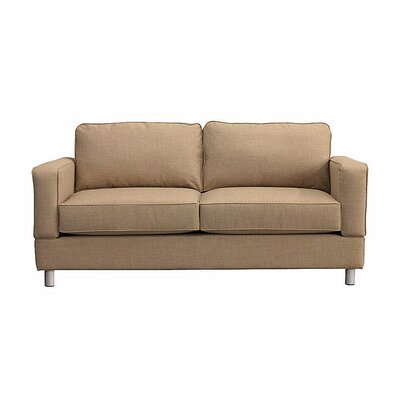 Raleigh Loveseat Upholstery: Almond