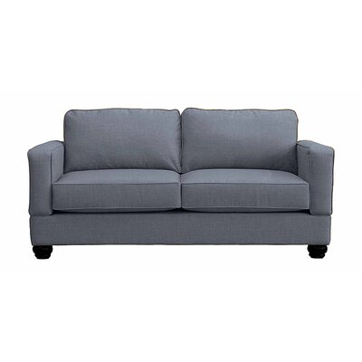 Raleigh Loveseat Upholstery: Denim