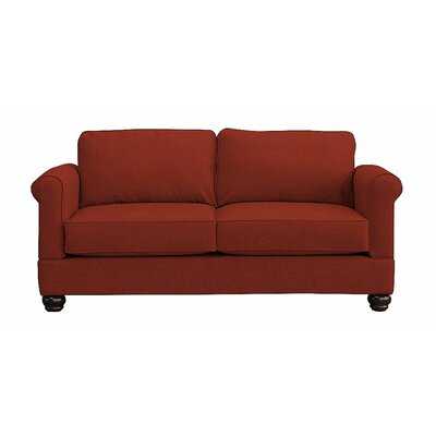 Georgetown Loveseat Upholstery: Red