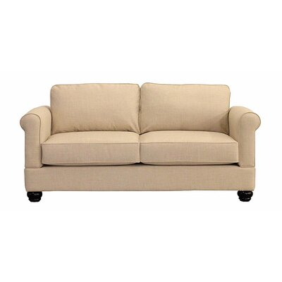 Georgetown Loveseat Upholstery: Buff