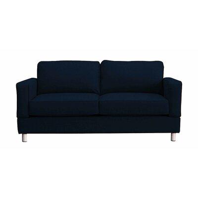 Raleigh Loveseat Upholstery: Indigo