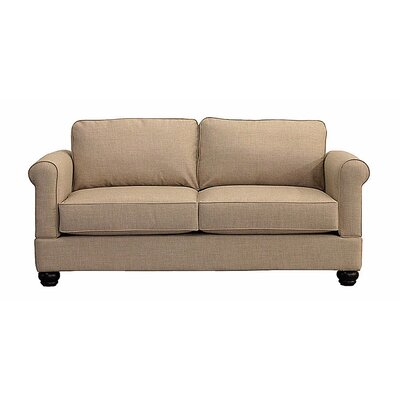 Georgetown Loveseat Upholstery: Almond