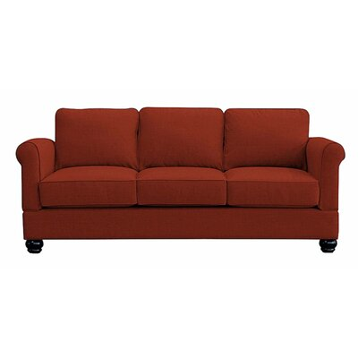 Georgetown Sofa Upholstery: Red